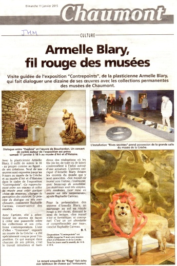 article Chaumont 11.1.2015 BD