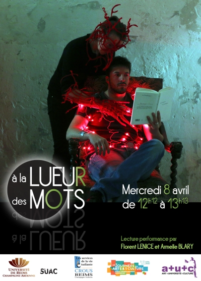 Flyer RECTO LUEUR DES MOTS